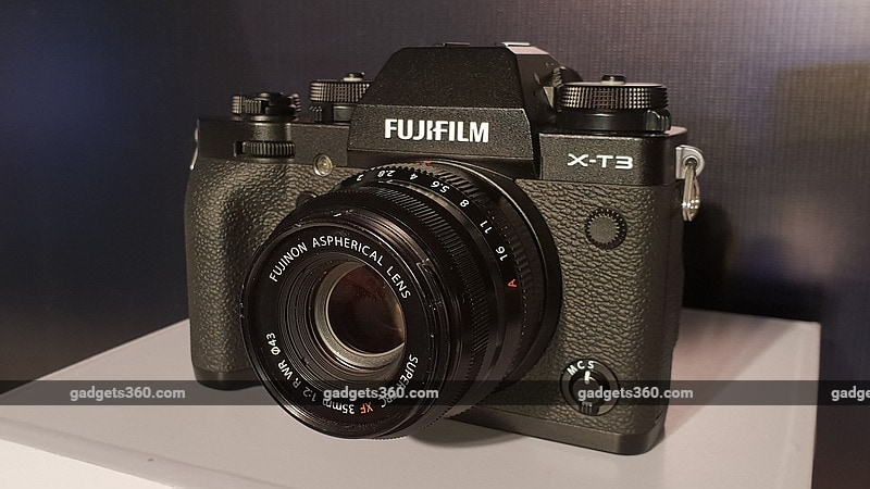 Fujifilm X-T3 Compact Mirrorless Camera Launched in India