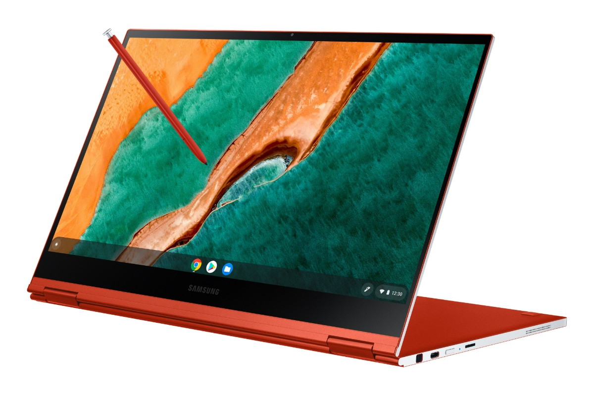 Samsung at CES 2020: Galaxy Chromebook 2-in-1 With Built-In Stylus ...