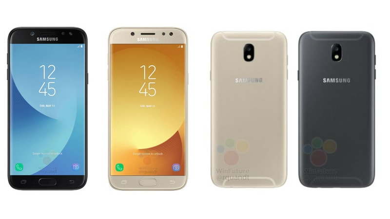 Samsung Galaxy J5 (2017), Galaxy J7 (2017) Leaked in Images and Videos