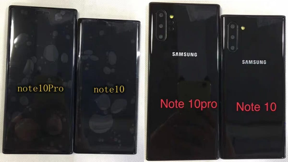 galaxy note10 leak iceuniverse Galaxy Note 10