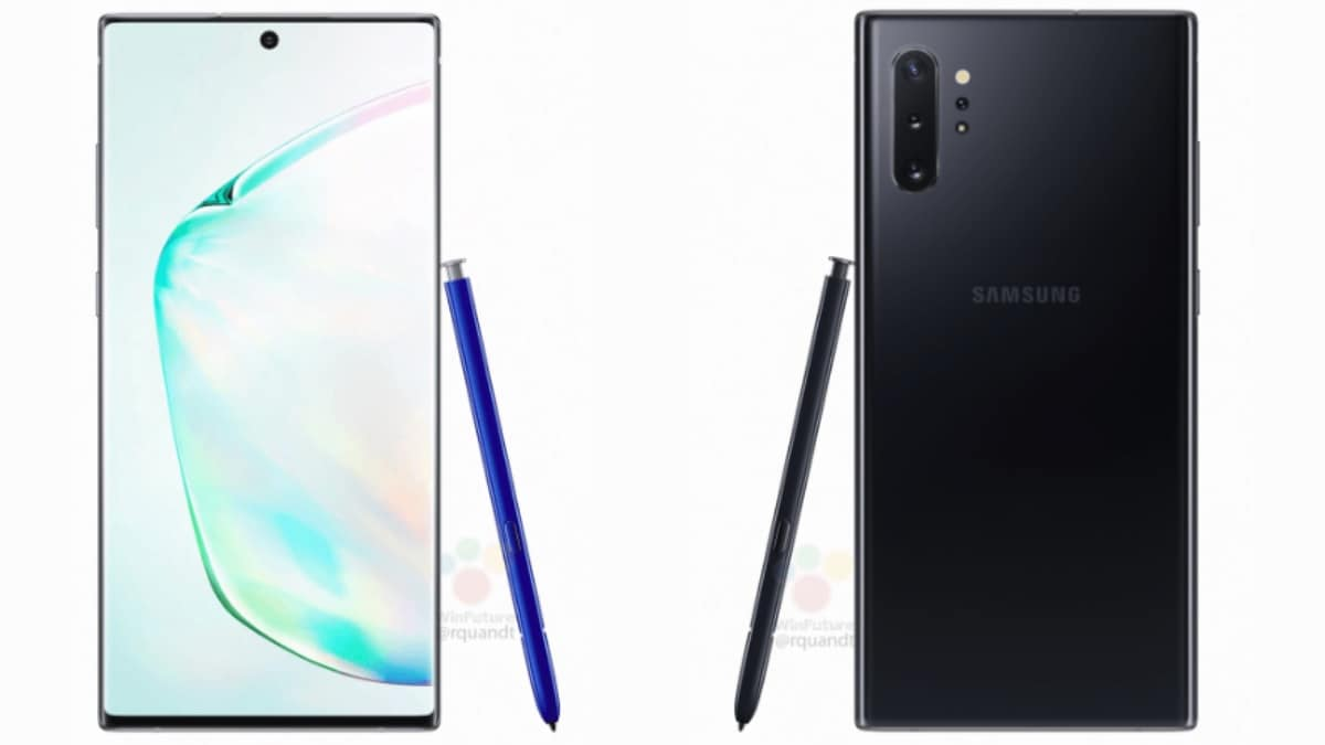 Samsung Galaxy Note 10 Leak Tips Improved S Pen With Gesture Support, Variable Aperture, 15W PowerShare, and More