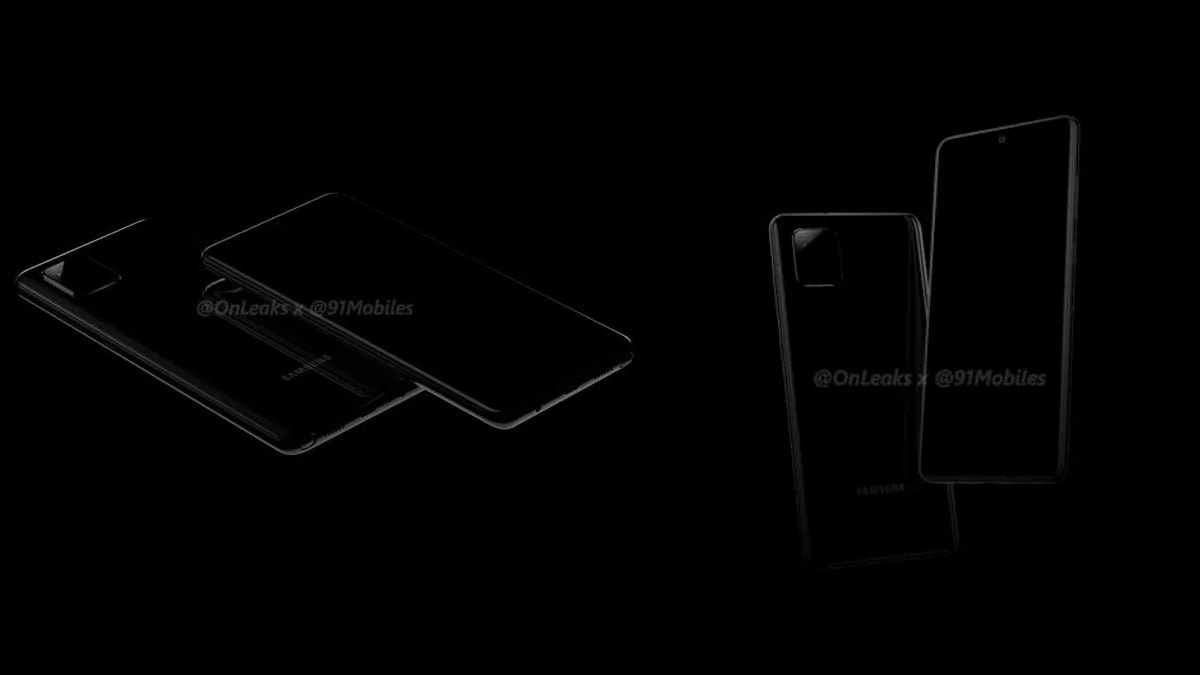 Samsung Galaxy Note 10 Lite Renders Show Centrally-Positioned Hole-Punch, Triple Rear Cameras