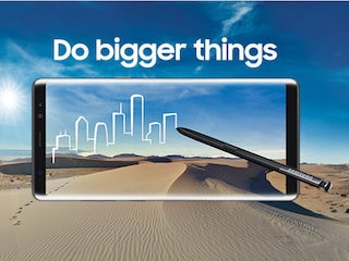Samsung Galaxy Note 8 Pre-Bookings Reportedly Cross 72,000 in India, Registrations Top 2.5 Lakh
