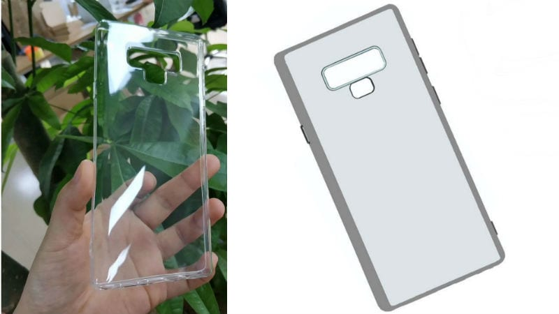 Samsung Galaxy Note 9 Leaked Case Render Shows New Fingerprint Sensor Position and Unknown Button