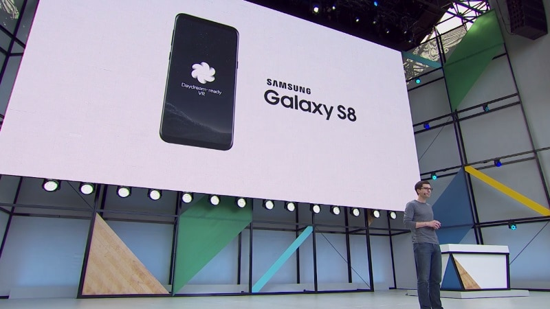 Google I/O 2017: Samsung Galaxy S8, Galaxy S8+ to Get Daydream VR Support This Summer