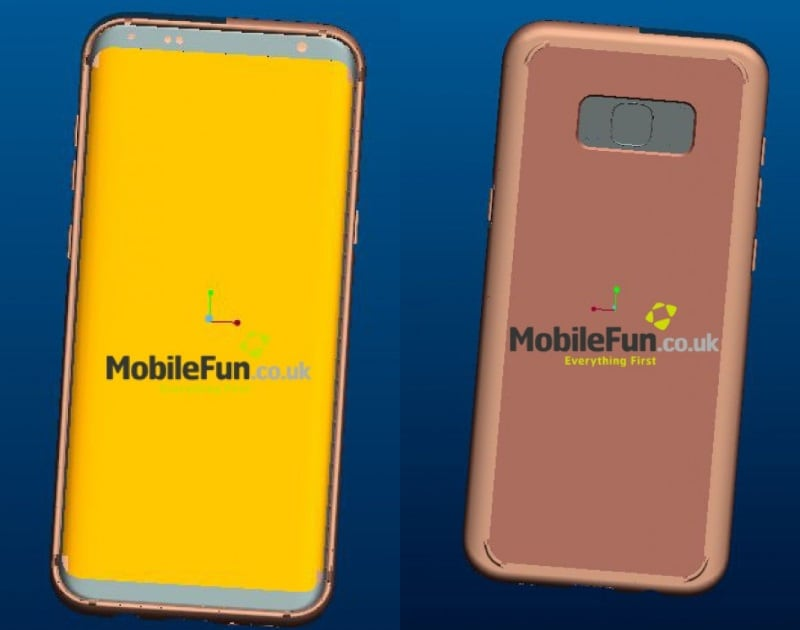 Samsung Galaxy S8 Plus Leaked Renders Tip Dual Rear Cameras | Technology  News
