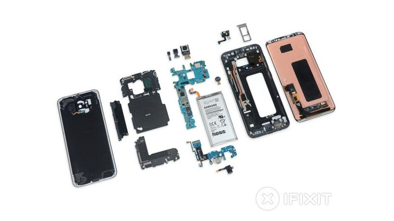 Samsung Galaxy S8, Galaxy S8+ iFixit Breakdown Reveals Many Components Are Replaceable