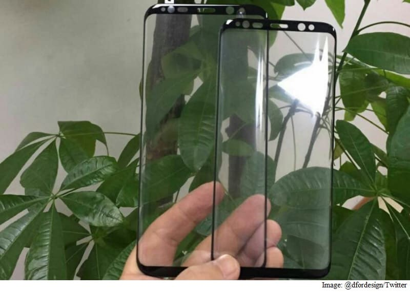 Samsung Galaxy S8 Display to Sport Rounded Edges, Leaked Tempered Glass Protector Tips