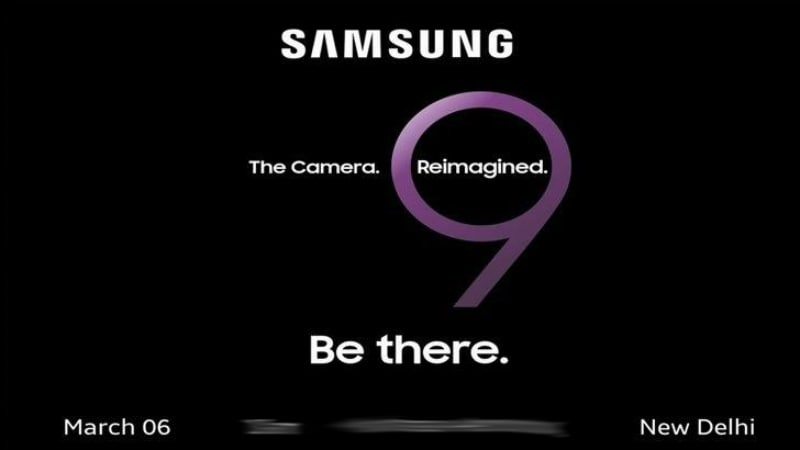 Samsung Galaxy S9, Galaxy S9+ India Launch Date Confirmed By Media Invite