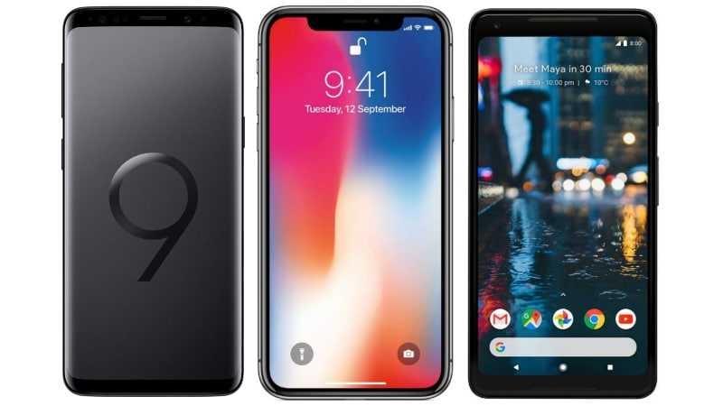 Galaxy S9+ vs iPhone X, Pixel 2 XL: Price in India, Specifications, Features Compared