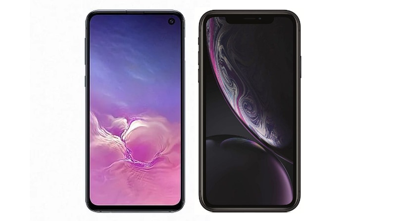 Samsung Galaxy S10e vs iPhone XR: Price, Specifications Compared