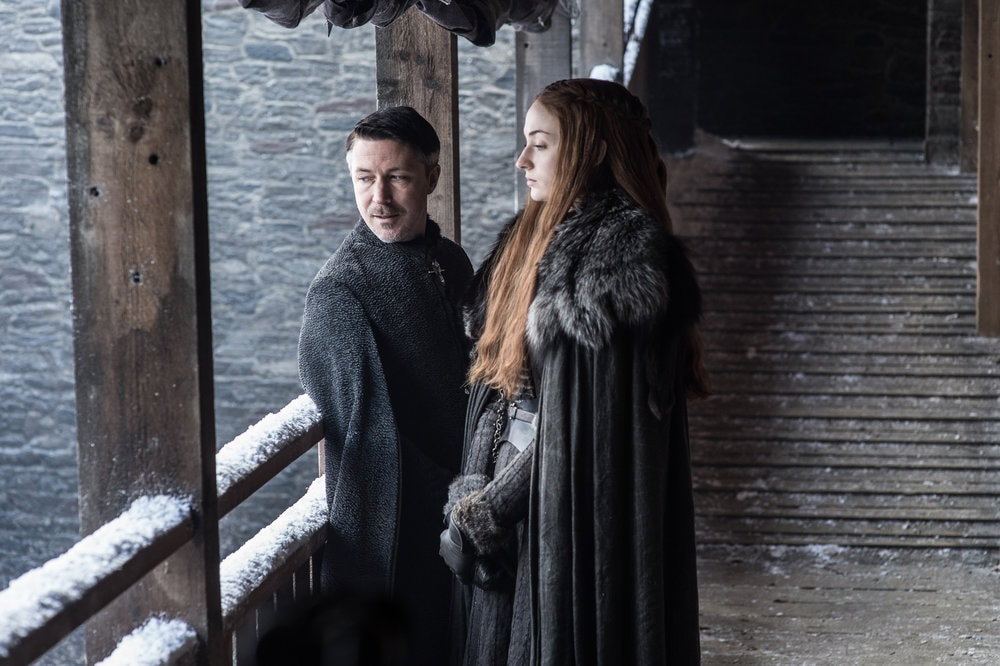 game of thrones littlefinger sansa Game of Thrones season 7