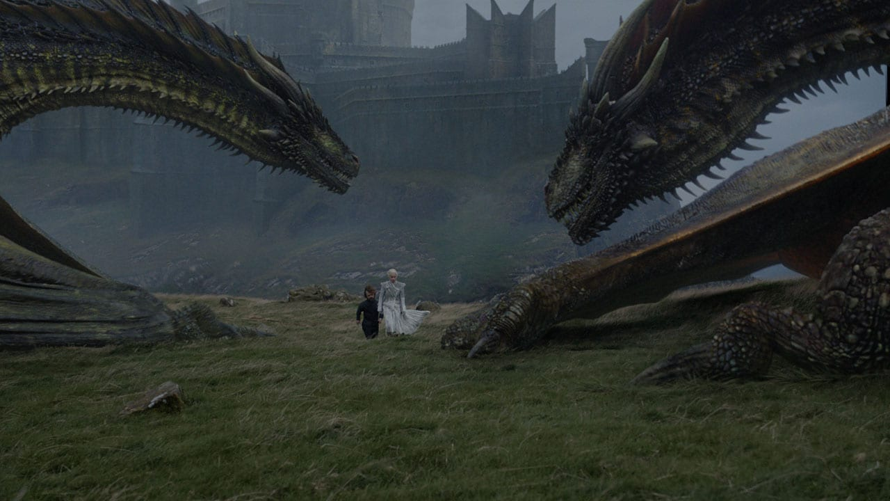 game of thrones s07e06 dany tyrion dragons Game of Thrones