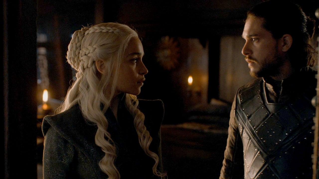 game of thrones season 7 finale daenerys jon Game of Thrones