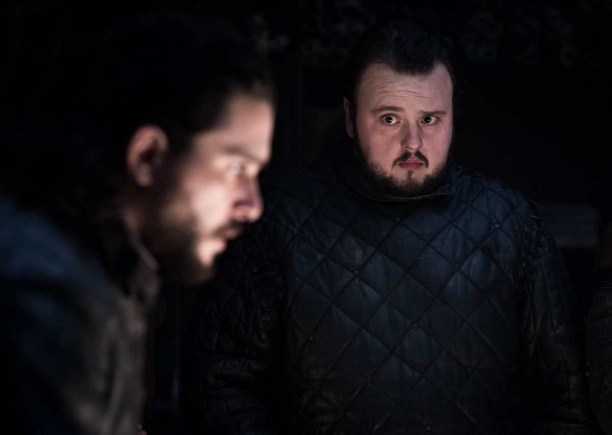 game of thrones season 8 episode 2 jon sam Kit Harington Jon Snow John Bradley Samwell Tarly Game of Thrones season 8 episode 2