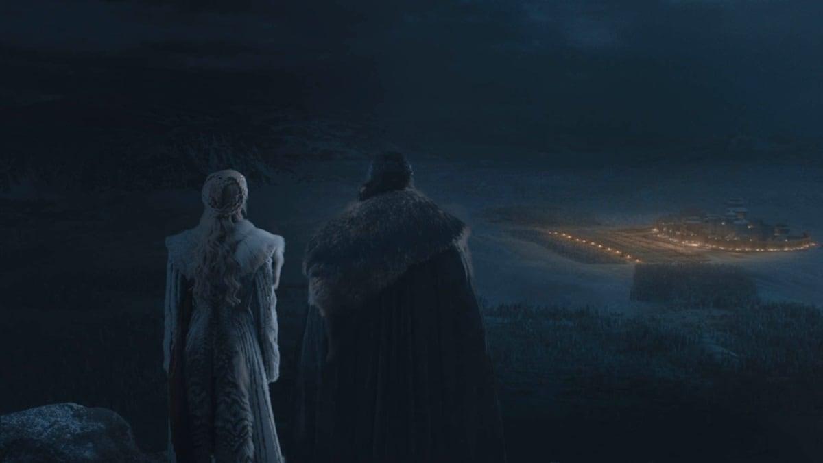 game of thrones season 8 episode 3 dany jon Dany Jon Game of Thrones season 8 episode 3