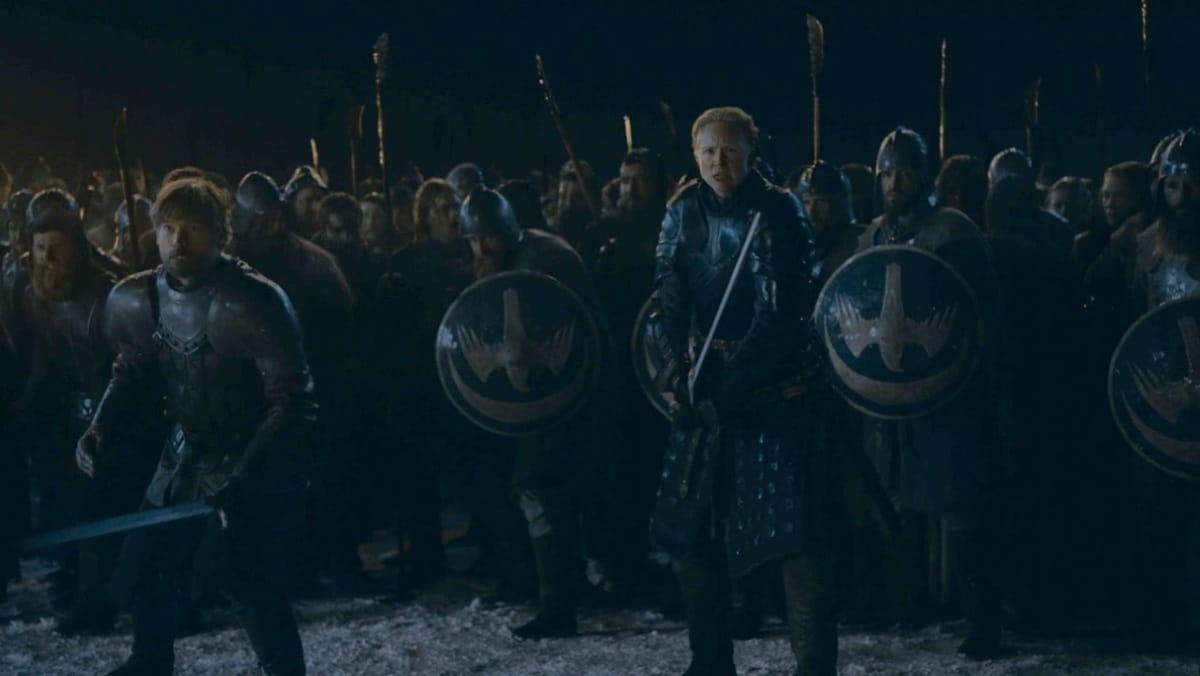 game of thrones season 8 episode 3 jaime brienne Jaime Brienne Game of Thrones season 8 episode 3