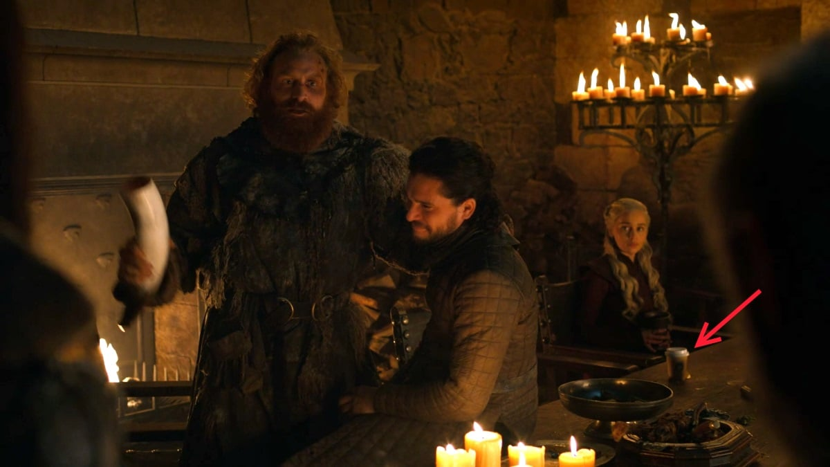 Game of Thrones Season 8 Episode 4 Coffee Cup Was 'A Mistake', HBO Confirms