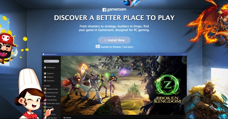 Gameroom Is Facebook's Steam-Like Gaming Client for Windows