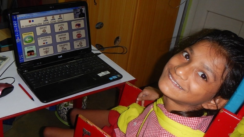 How Eye Tracking Opened Up the World for a Girl With Severe Cerebral Palsy