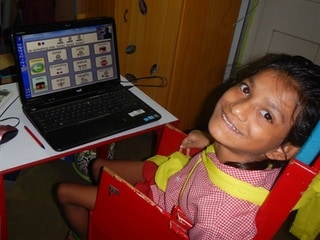 How Eye Tracking Opened the World for a Girl With Severe Cerebral Palsy