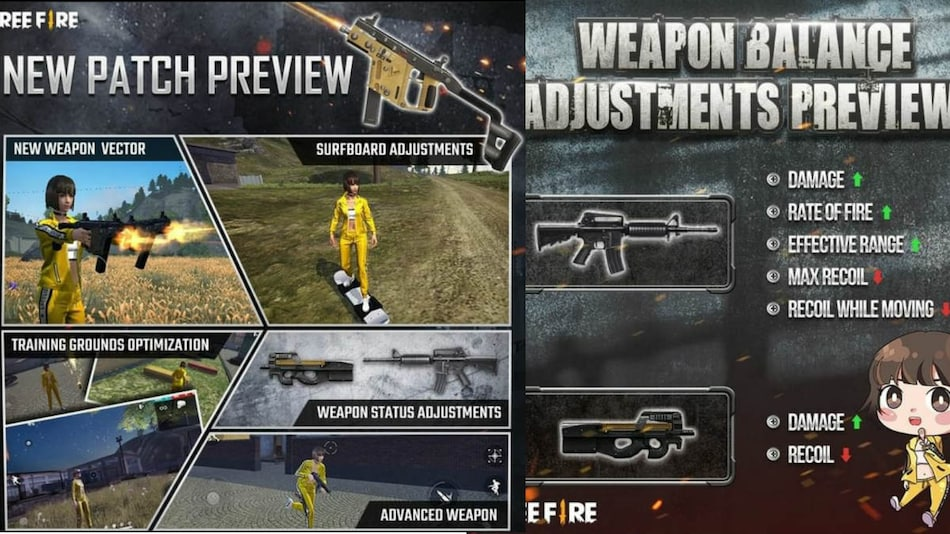 Garena Free Fire Update to Bring Revamped Training Map, Dual-Wielding Vector Akimbo SMG