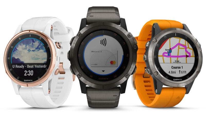 Garmin Fenix 5 Plus Smartwatches With Maps, Music, Garmin Pay, Pulse Ox Launched