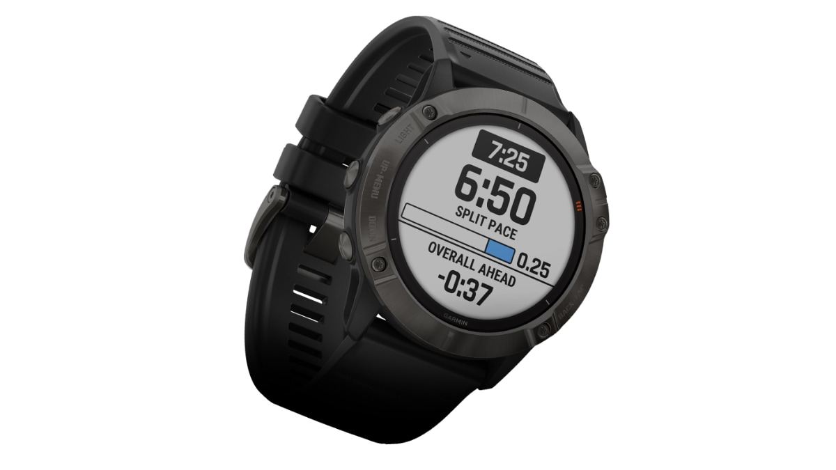 Garmin Fenix 6, Fenix 6S, Fenix 6X, Fenix 6X Pro Solar With Heart Rate Sensor, Pace-Strategy Feature Launched in India