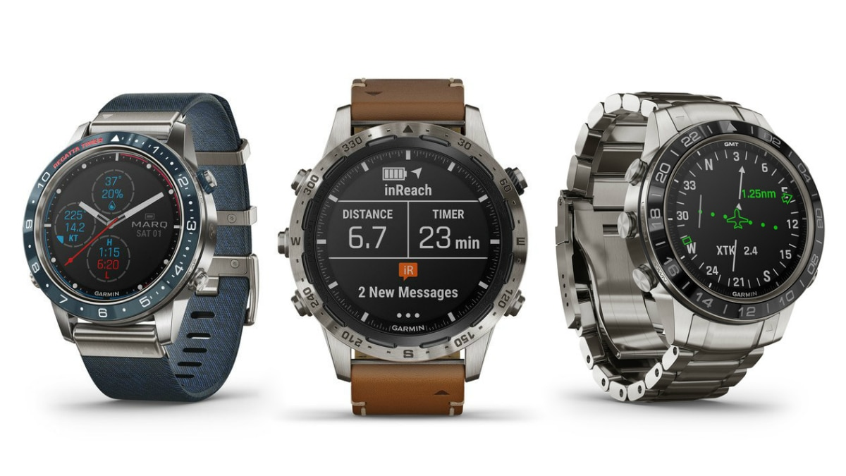 Garmin Marq Luxury Smartwatches Launched in India, Prices Start at Rs. 1,41,990