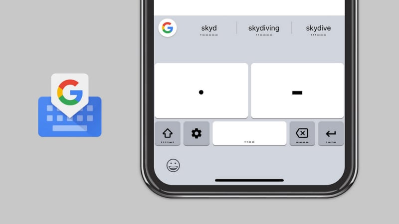Your iPhone now does Morse code, thanks to Google's Gboard keyboard