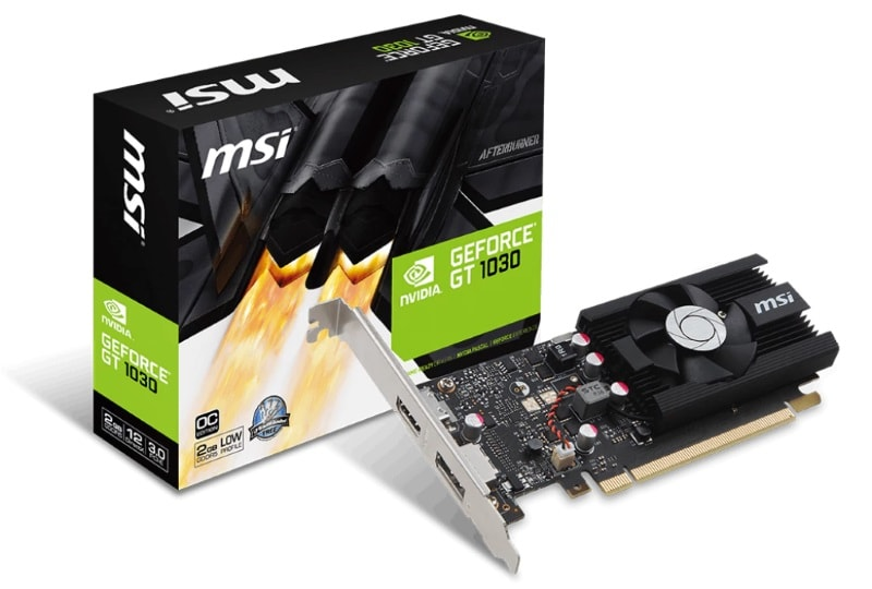 Nvidia GeForce GT 1030 Low-Cost Graphics Cards Launched in India Starting Below Rs. 6,000