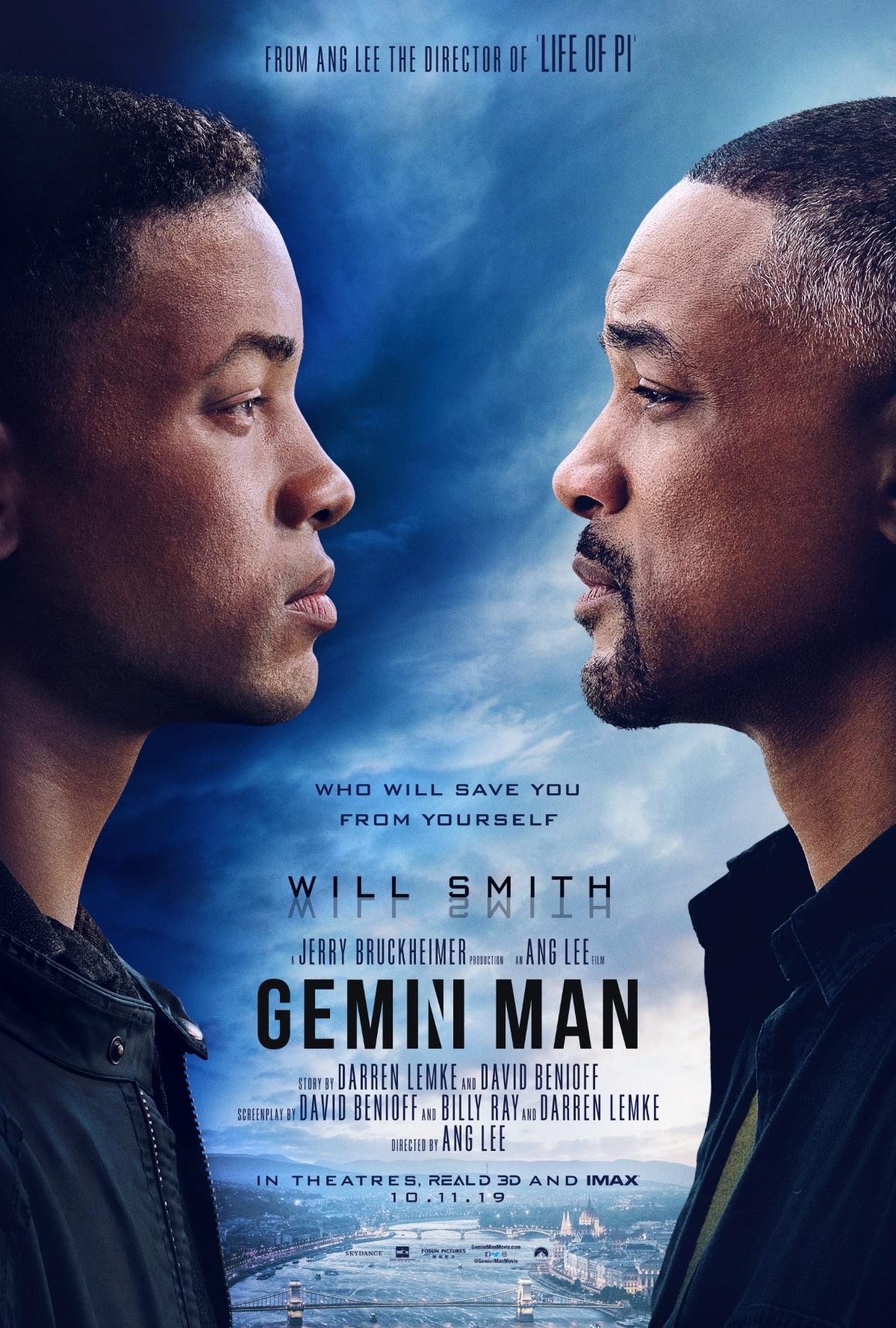 gemini man poster Gemini Man poster