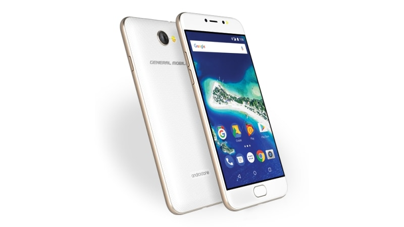 General Mobile GM 6 Android One Smartphone With Selfie Flash Launched at MWC 2017