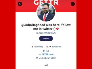 Pro-Trump Social Media App Gettr Hacked on Launch Day as Half Million Sign Up