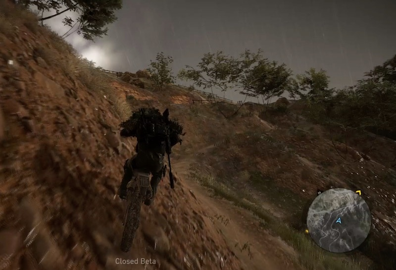ghost recon wildlands bike ride