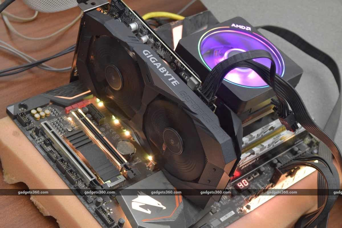 gigabyte geforce gtx 1650 1660 testrig ndtv geforce