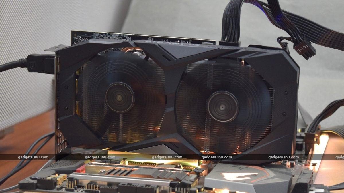 gigabyte gtx 1650 ndtv gpu