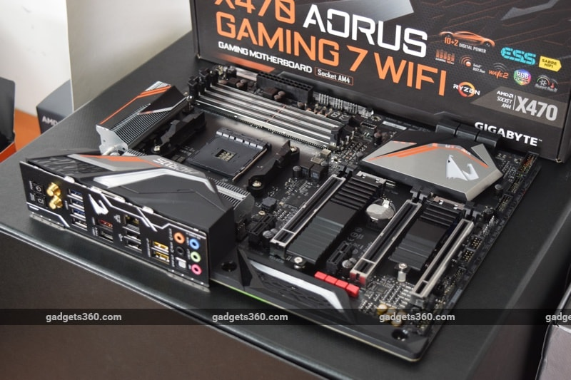 AMD Ryzen 7 2700X and Gigabyte Aorus X470 Gaming 7 Wifi Review