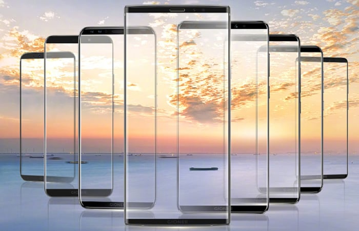 Gionee to Launch 8 Bezel-Less Display Smartphones on November 26