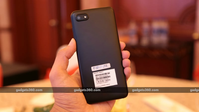 gionee f205 back inline Gionee F205 S11 Lite First Impressions