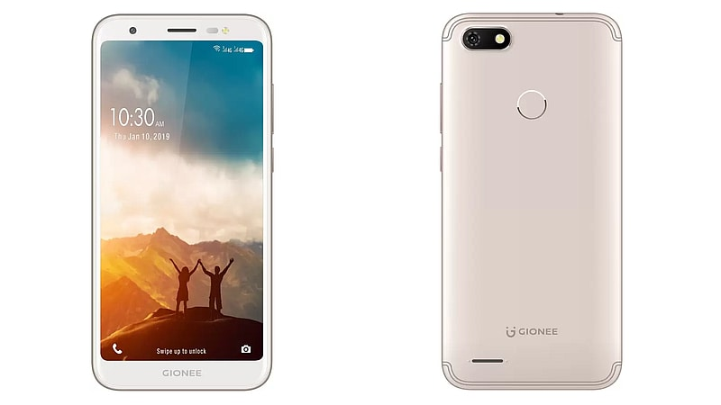 Gionee F205 Pro With 18:9 Display, 3,000mAh Battery Launched in India: Price, Specifications