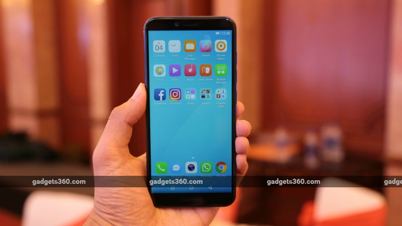 gionee s11 lite front inline Gionee F205 S11 Lite First Impressions