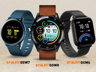 Gionee StylFit GSW6, StylFit GSW7, StylFit GSW8 Smartwatches With Fitness Tracking Features Launched