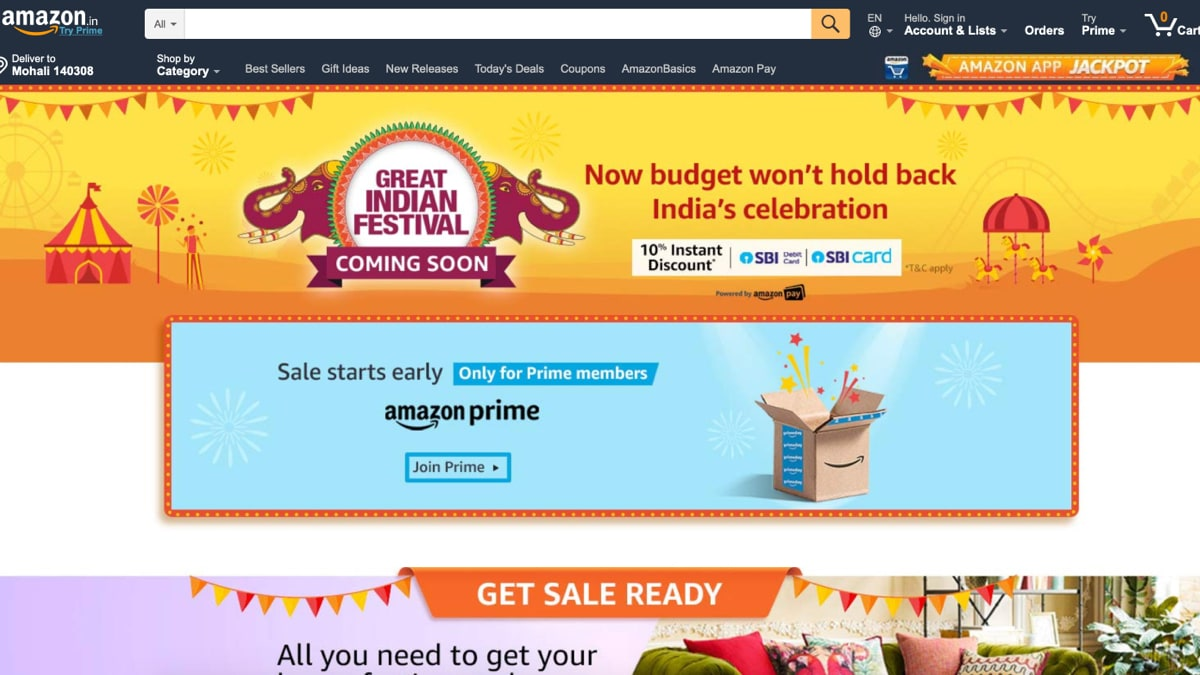 Amazon Great Indian Festival Sale 2019 Announced: Here's