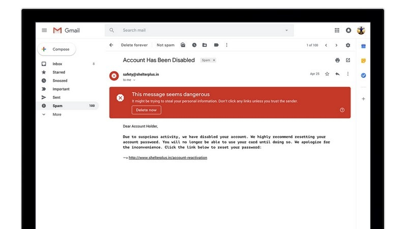 New Gmail Sends Self-Destructing Emails - and Nudges You to Reply to Mom