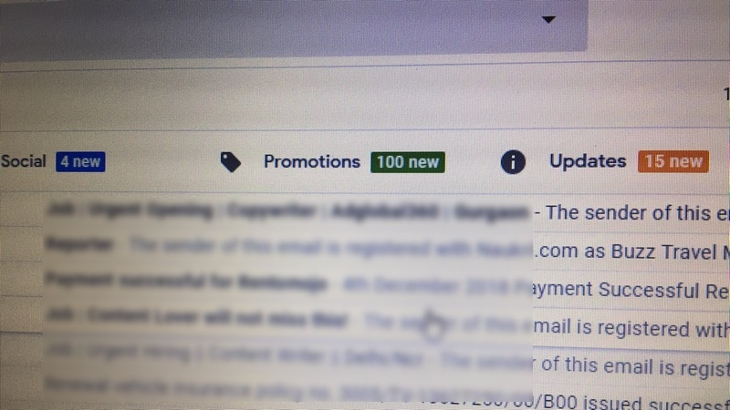 Gmail 'Promotions' Bug Reveals an Algorithmic Mystery