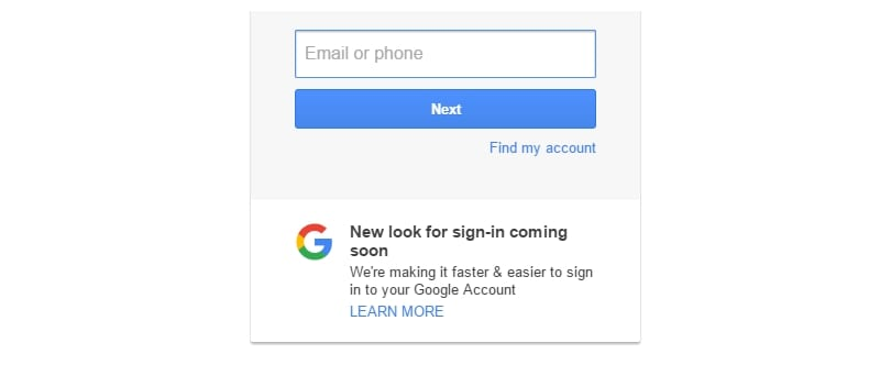 gmail new sign in 9to5google google
