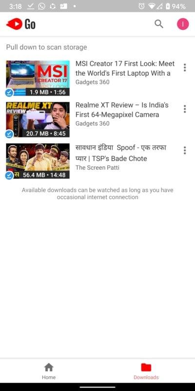 go youtube 3 YouTube Go