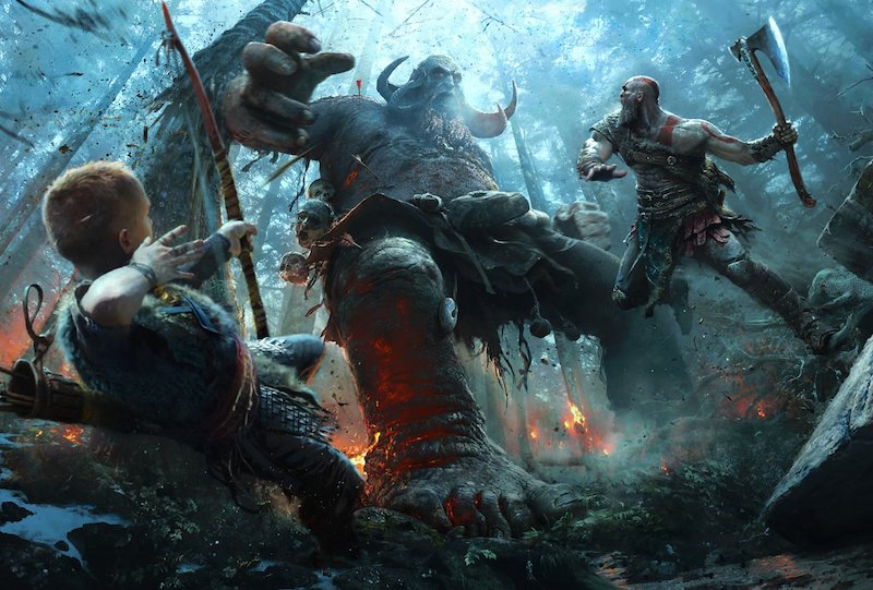 God of War has an option for a more immersive experience