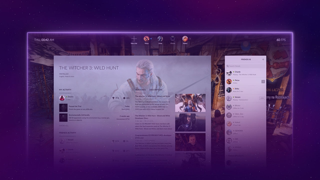 GOG Galaxy Gets Cloud Saves in Big, New Update